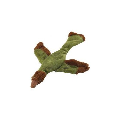 Skinneeeez Archeopteryx Dog Toy in Green