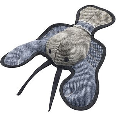 Ethical Pet Dura-Fused Canvas Lobster Dog Toy