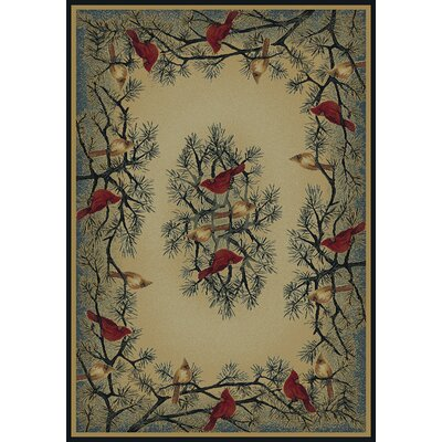 Hautman Brothers Rugs Hautman Cardinal In Pine Novelty Rug