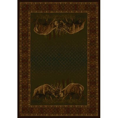 Buckwear Buckwear Winner Takes All Lodge Novelty Rug