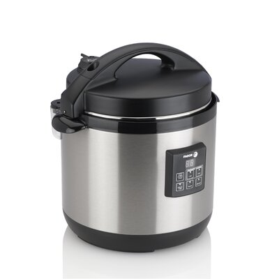 6-Quart Electric Pressure Cooker Plus