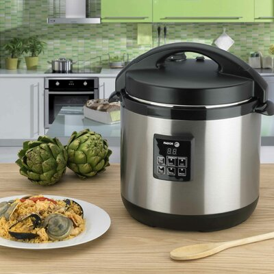 Fagor 6-Quart Electric Pressure Cooker Plus