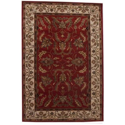 Acura Rugs Aaryan Red/Cream Rug