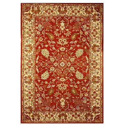 Acura Rugs Artios Red/Gold Rug
