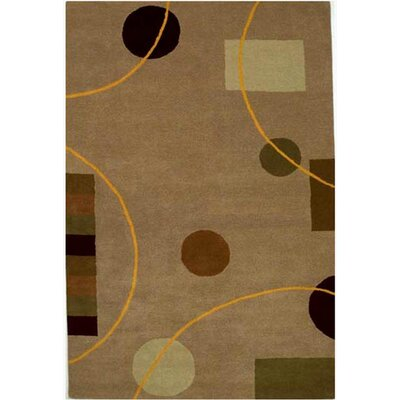 Acura Rugs Contempo Beige/Brown Rug