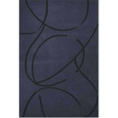 Contempo Dark Blue/Black Rug