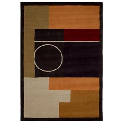Acura Rugs Contempo Multi/Black Rug
