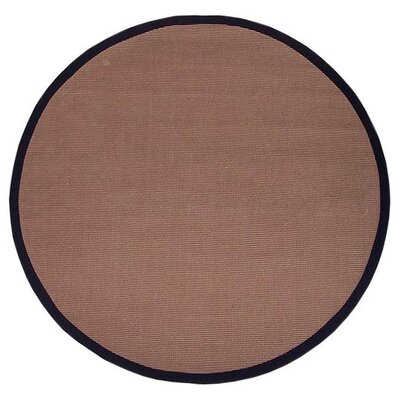 Acura Rugs Sisal Natural/Black Rug