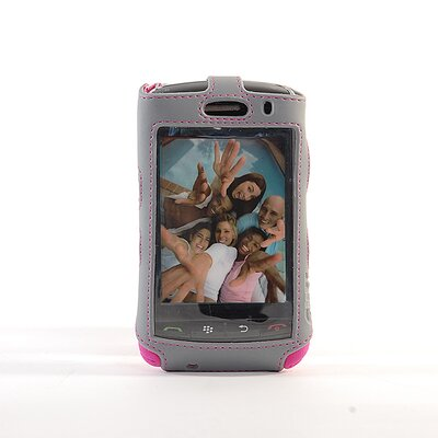 Gut Cases Blackberry Storm Sport Sleeve Case with Clip in Pink