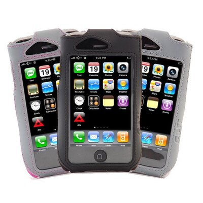 Gut Cases iPhone Sport Sleeve Case with Clip in Black