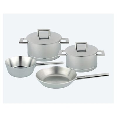 Demeyere John Pawson 7-Ply Stainless Steel 6-Piece Cookware Set