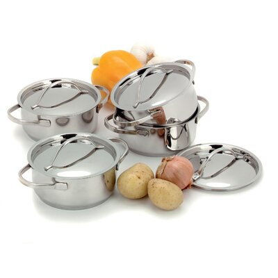 Demeyere Resto Mini Sauce Pots (Set of 4)