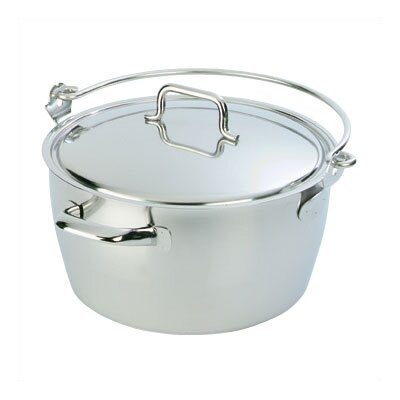 Demeyere Resto 10.6-qt. Stock Pot with Lid