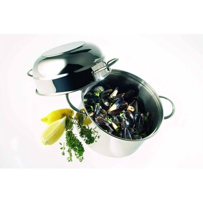 Demeyere Resto 3.2-qt. Mussel Stock Pot with Lid