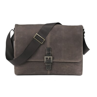 Boconi Hendrix Single Buckle Messenger Bag