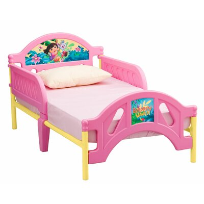 Delta Children Nickelodeon Dora the Explorer 10th Anniversary Toddler Bed