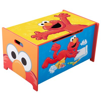 Delta Children Sesame Street Toy Box
