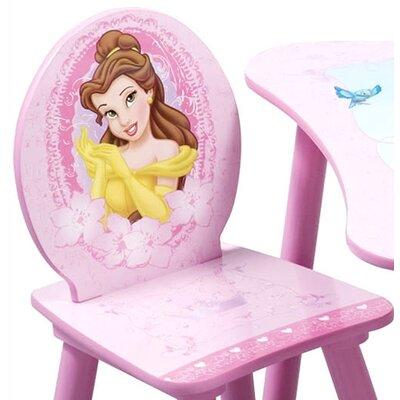 Delta Children Disney Princess Kids' 3 Piece Table and Chair Set