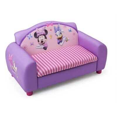 Delta Children Disney Minnie Mouse Kids Sofa