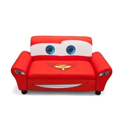 disney pixar 39 s cars upholstered sofa with storage wayfair