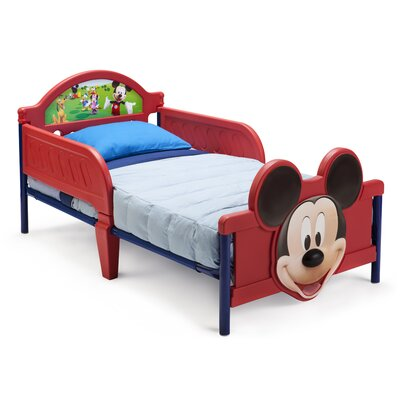 Delta Children Disney Mickey Mouse Convertible Toddler Bed