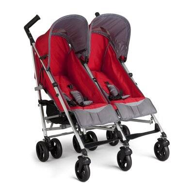 Simmons Tour Side by Side Stroller