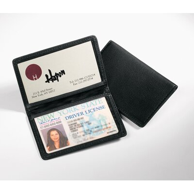 Andrew Philips ID Holder in Black
