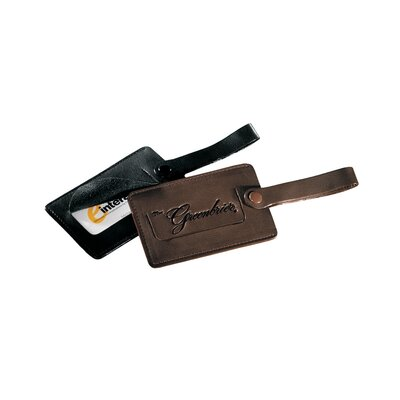 Andrew Philips Florentine Napa Snap Luggage Tag