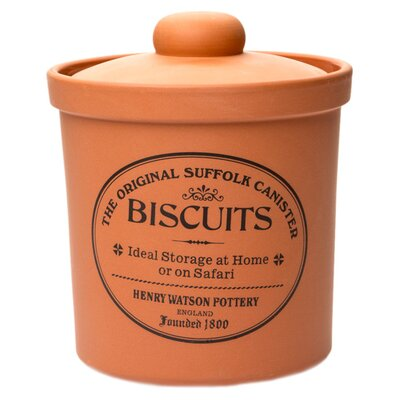 Henry Watson Original Suffolk Large Biscuit Canister