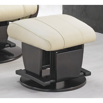 Dutailier 214 Monaco Glider with Open Base and Ottoman