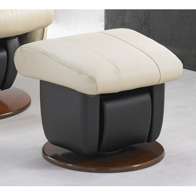 Dutailier 218 Liverpool Glider with Closed Base and Ottoman