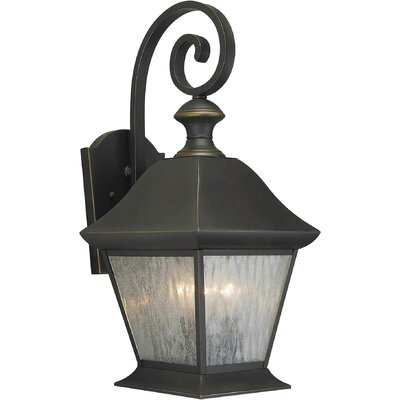 Forte Lighting 3 Light Outdoor Lantern
