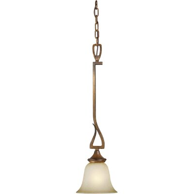 Forte Lighting 1 Light Mini Pendant