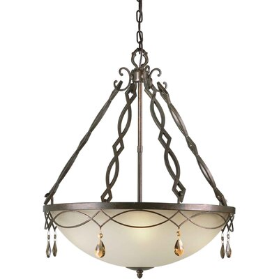 Forte Lighting Bowl Inverted Pendant