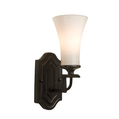 Artcraft Lighting Wellington One Light Wall Sconce in Oil Rubbed Bronze