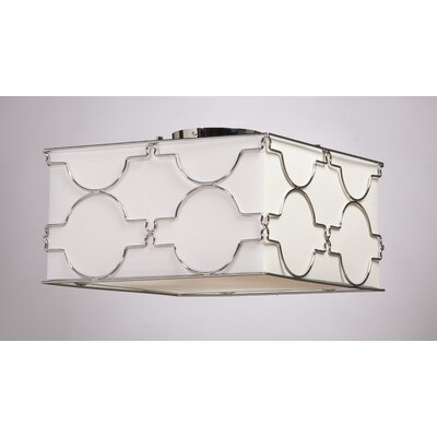 Morocco Square Semi Flush Mount