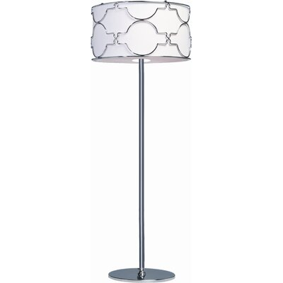Artcraft Lighting Morocco Three Light Floor Lamp in Chrome