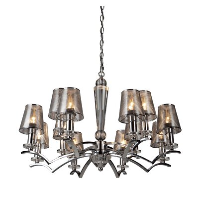 Artcraft Lighting Brera 12 Light Chandelier