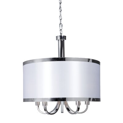 Artcraft Lighting Madison 5 Light Drum Pendant