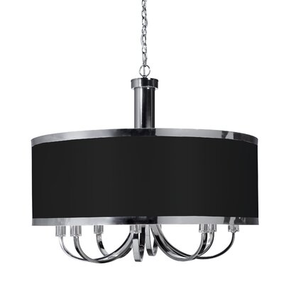 Sale alerts for Artcraft Lighting  Madison 8 Light Drum Pendant  - Covvet