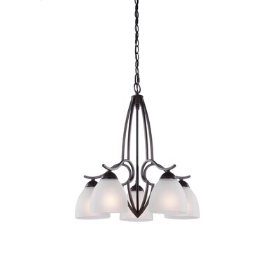 Artcraft Lighting Harvard 5 Light Chandelier