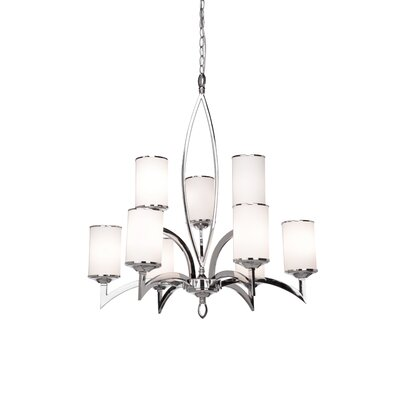 Artcraft Lighting Saturn 9 Light Chandelier