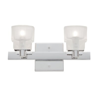 Artcraft Lighting Las Vegas 2 Light Bath Vanity Light