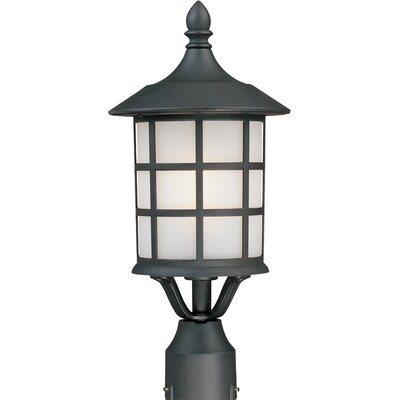 Artcraft Lighting Yorktown 1 Light Outdoor Post Lantern