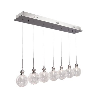 Artcraft Lighting Yale 7 Light Kitchen Island Pendant