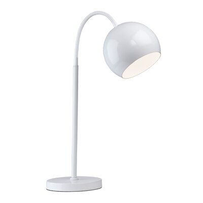 """Artcraft Lighting On The Spot 37.5"""" H Table Lamp with Bowl Shade"""