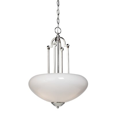Artcraft Lighting Lincoln 3 Light Inverted Pendant