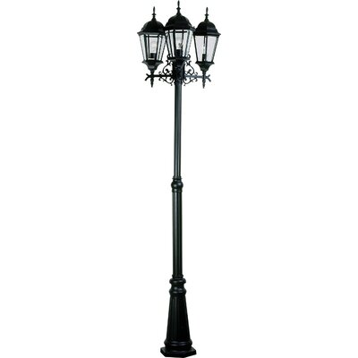 "Artcraft Lighting Tudor 3 Light 92"" Outdoor Post Lantern Set"