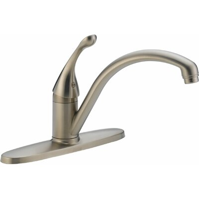 Delta Collins Single Handle Centerset Duramount Kitchen Faucet