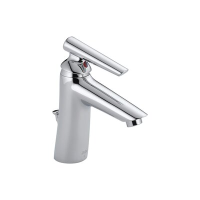 Delta Rhythm Single Hole Bathroom Sink Faucet with Single Lever Handle